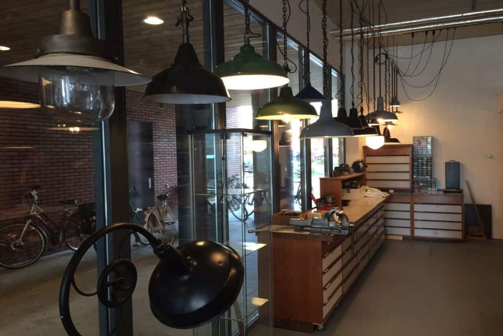 De lampenwinkel van het Lichtatelier