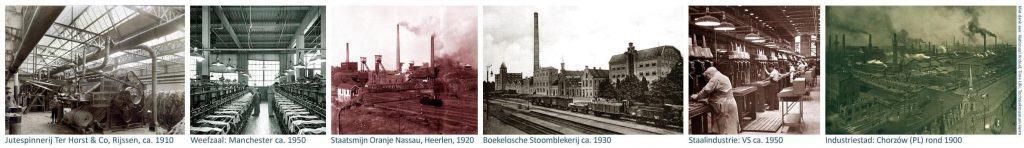 Het Lichtatelier: Locaties waar authentieke industriële lampen werden gebruikt.