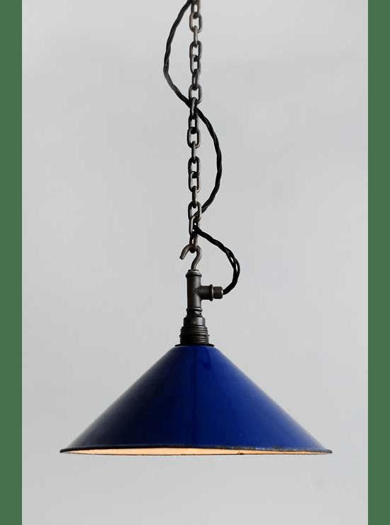 Het Lichtatelier: Hanglamp Bradford Blue